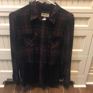 Express Boyfriend fit blouse